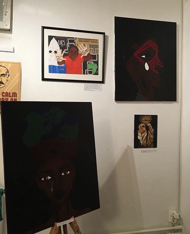 Utställning av Nasra Salim
