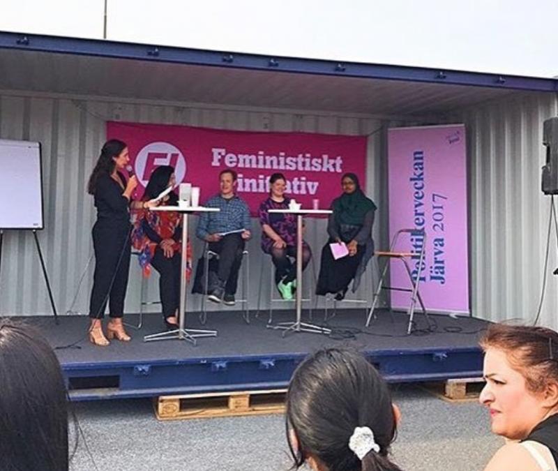 Paneldebatt politikerveckan i Järva 2017